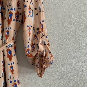 Anthropologie Dresses - Anthropologie Dolan Wanderlust Aztec Print Dress